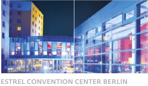 Das Estrel Convention Center Berlin ist mit 15.000 Quadratmetern Multifunktionsfläche das größte Haus seiner Art in Europa. (Foto: Estrel Hotel Berlin)