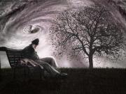 In meinem Traum war ich obdachlos und einsam, ich hatte Geldprobleme, war mit Kälte konfrontiert und hatte keine Perspektive.