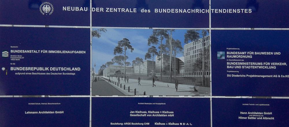 bnd umzug nach berlin wird um 450 millionen euro teurer weil techniker in pullach bleiben. Black Bedroom Furniture Sets. Home Design Ideas