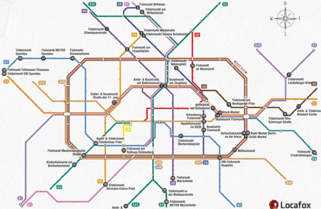 Erster Trödelmarkt Fahrplan Für Berlin
