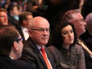 Mag keine kritischen Abgeordneten in den eigenen Reihen: CDU-Fraktionschef Volker Kauder (2.v.l.). (Foto: flickr/Metropolico.org)