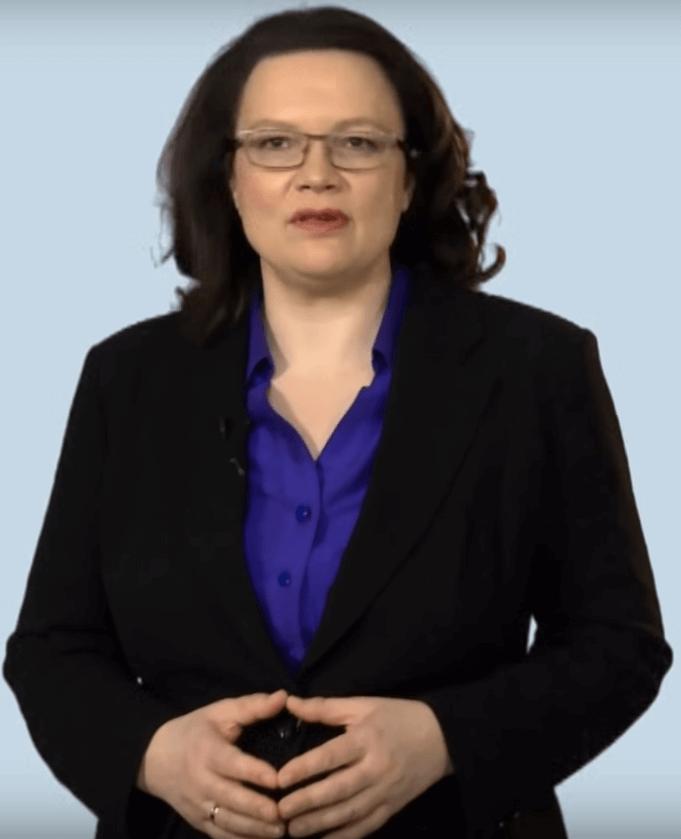 Andrea Nahles (45, SPD), Bundesministerin für Arbeit und Soziales (Foto: BMAS)