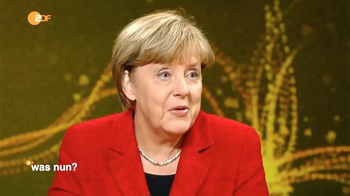 ZDF bringt Merkels Neujahrsansprache mit arabischen Untertiteln