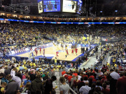 Insgesamt 9.077 Zuschauer sahen die Heimniederlage von Alba Berlin in der heimischen Mercedes-Benz-Arena. (Foto: flickr/ Thomas Dolby)
