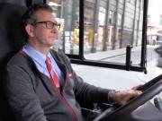Ex-Berliner Daniel Winter ist der beste Busfahrer Wiens