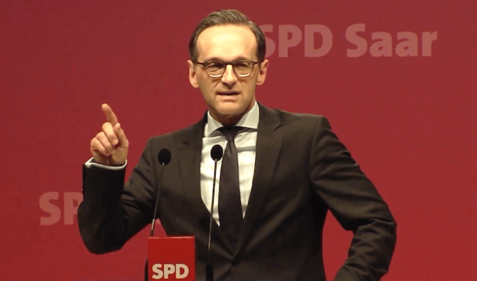Heiko Maas SPD hetzt gegen die AfD