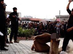 Der IS enthauptet in Syrien Straßenkünstler, weil sie der Hexerei und Zauberei schuldig seien (Foto: Abu Bakr Al Britani / Twitter)