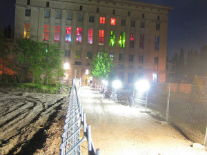 One of Berlin's most famous electro clubs: Berghain. Taken by mlaiacker via Flickr.