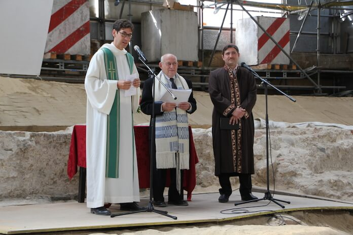 Multireligious Event in Berlin with all three religions. (Foto: The House of One)