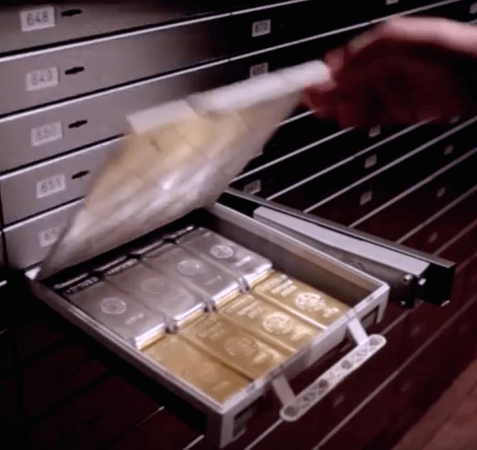 Woher kommt das Gold und Silber im Schließfach? Das sollen nach dem Willen der SPD künftig alle Deutschen gegenüber dem Finanzamt nachweisen (Foto: Youtube/Goldkontor Hamburg)