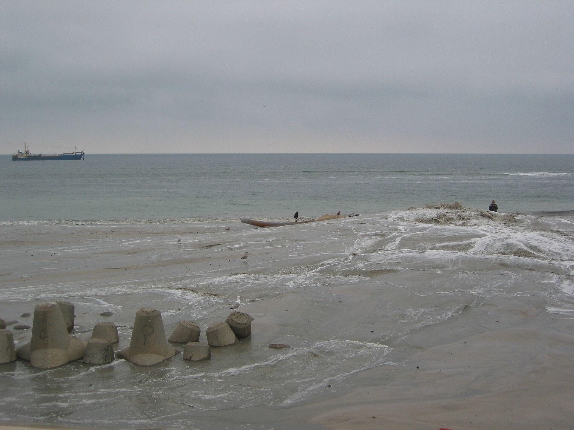 Tetrapoden am Strand von Westerland (Foto: Wikipedia/Magnus Manske)