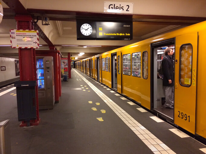 U-Bahn in Berlin. (Source).