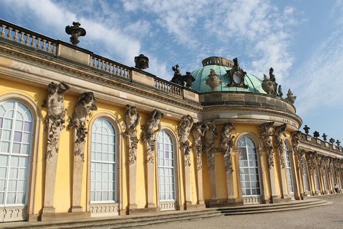 Sanssouci castle.