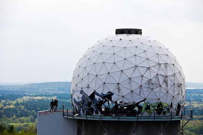 Dome at Teufelsberg. Source.