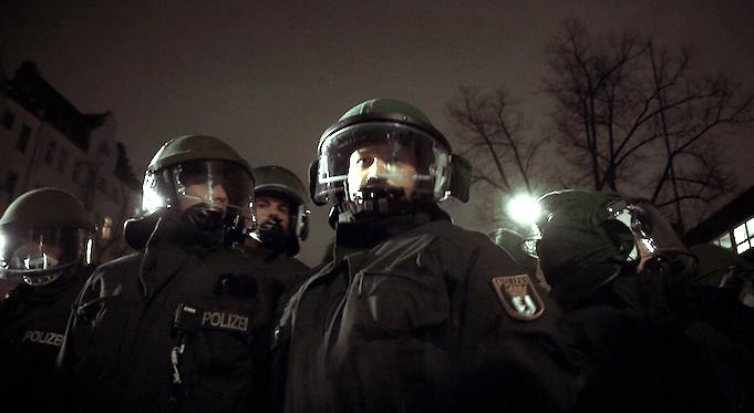 Berliner Polizei zum Narren gehalten