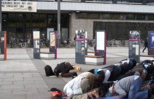 Identitäre Bewegung TU Berlin Muslime