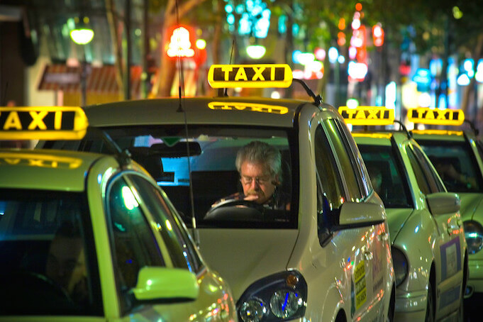 This is how Berlin's cab companies cheat the system. (Foto: Till Krech)