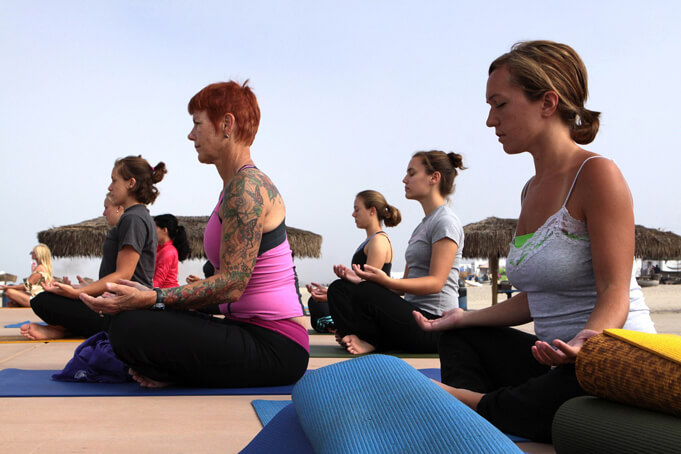 Yoga as mindfulness activity