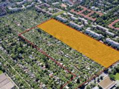 Die halbe Kleingartenkolonie Oyenhausen in Schmargendorf wurde im Januar 2016 platt gemacht, obwohl es nicht mal einen Bebauuntsplan gibt (Foto: Groth Gruppe)