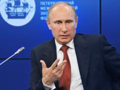 """Russland lebt zur Zeit von der Reserve aus Öleinnahmen. Präsident Wladimir Putin (63) muss Staatskonzerne verkaufen: """"Wir brauchen das Geld."""" (Foto: Kremlin.ru)"""