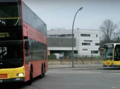 Hinterm Bahnhof Zoo zwischen Buswendestelle in der Hertzallee und dem Ernst-Reuter-Platz sollen nun statt eines Riesenrades 400 neue Wohnungen gebaut werden - 100 davon sozial (Foto: Youtube)