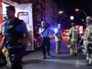 Vier Deutsch-Libanesen mussten am Samstagabend, 24. September 2016, in der Graefestraße in Berlin-Kreuzberg mit Schnittverletzungen und Prellungen in ein Krankenhaus gebracht werden, weil ein Kinderstreit in einem Clan eine Massenschlägerei auslöste (Foto: youtube/@facebook.com/hubber.me)