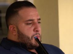 """Hassan Berjaoui (24), Mitglied einer libanesischen Großfamilie in Neukölln: """"Aus meiner Großfamilie sind die meisten in Haft wegen Raub."""" (Screenshot: ZDF/Frontal21)"""