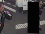 Wer kennt den Osteuropäer mit der Bierflasche? Er soll versucht haben, am 15. Oktober 2015 nachts um 2 Uhr eine Frau (46) auf dem Parkplatz des Erika Hess Eisstadions zu vergewaltigen. Er entkam mit ihrer Handtasche (Foto: Polizei Berlin)