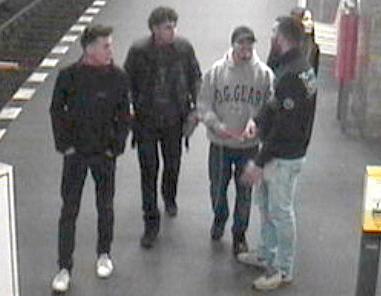 Polizei Berlin sucht diese fünf jungen Räuber vom U