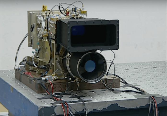 Die in Adlershof entwickelte Weltraukamera HRSC lieferte Beweisbilder, dass es auf dem Marsl so viel Wasser wie durch den Ärmelkanal lief (Foto: Youtube(DLR)
