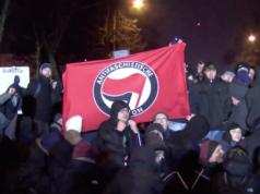 Norbert Müller Fahrdienst Bundestag Antifa-Demo