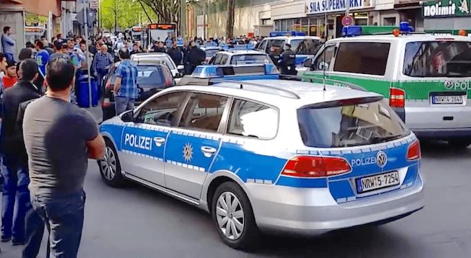 Rumänische Polizei Duisburg