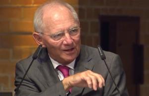 Wolfgang Schäuble hatte die Schuldenpolitik der portugiesischen Regierung kritisiert. (Screenshot: YouTube)
