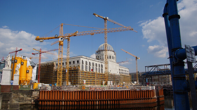 Humboldt Forum under construction. Source.