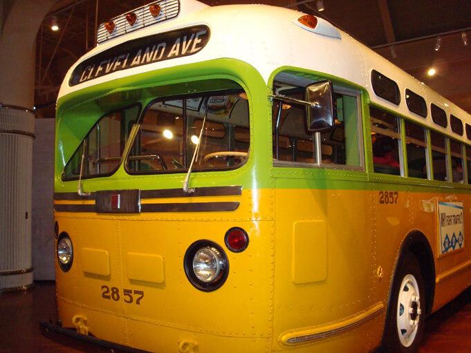 The Rosa Parks Bus. Source.