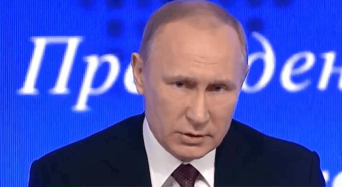 Weihnachtsbrief Putin Donald Trump