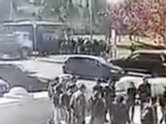 Überwachungsbilder Lkw-Anschlag Jerusalem