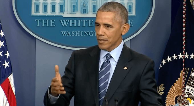 Barack Obama 2016 Bomben abgeworfen