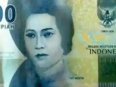 Indonesien Geldscheine Kafir Cut Nyak Meutia
