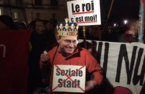 Rücktritt Andrej Holm Proteste gegen Michael Müller