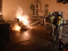 Zehn Brandstiftungen Berlin-Neukölln