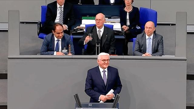 Frank-Walter Steinmeier erste Rede als Bundespräsident im Wortlaut