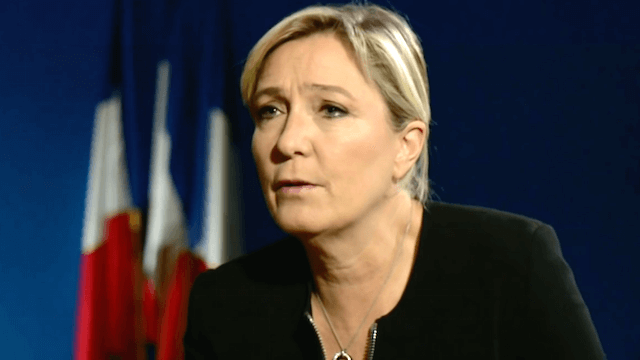 Marine Le Pen Front National Nato-Mitgliedschaft