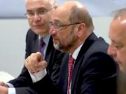 Martin Schulz Emnid-Wahlumfrage SPD vor Union