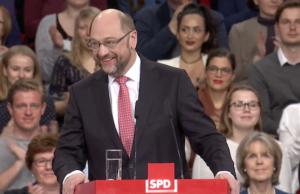 100 Prozent für Martin Schulz Bundesparteitag Berlin