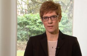 Annegret Kramp-Karrenbauer Landtagswahl Saarland