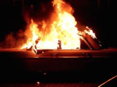 Autos brennen Kreuzberg Gropiusstadt