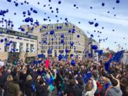 Berlin Demo für die EU