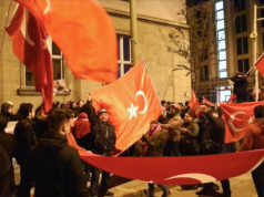 Berliner Türken gegen Niederlande