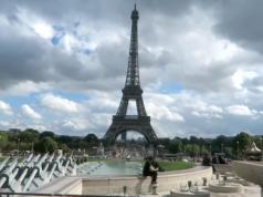 Eiffelturm schusssichere Glaswände